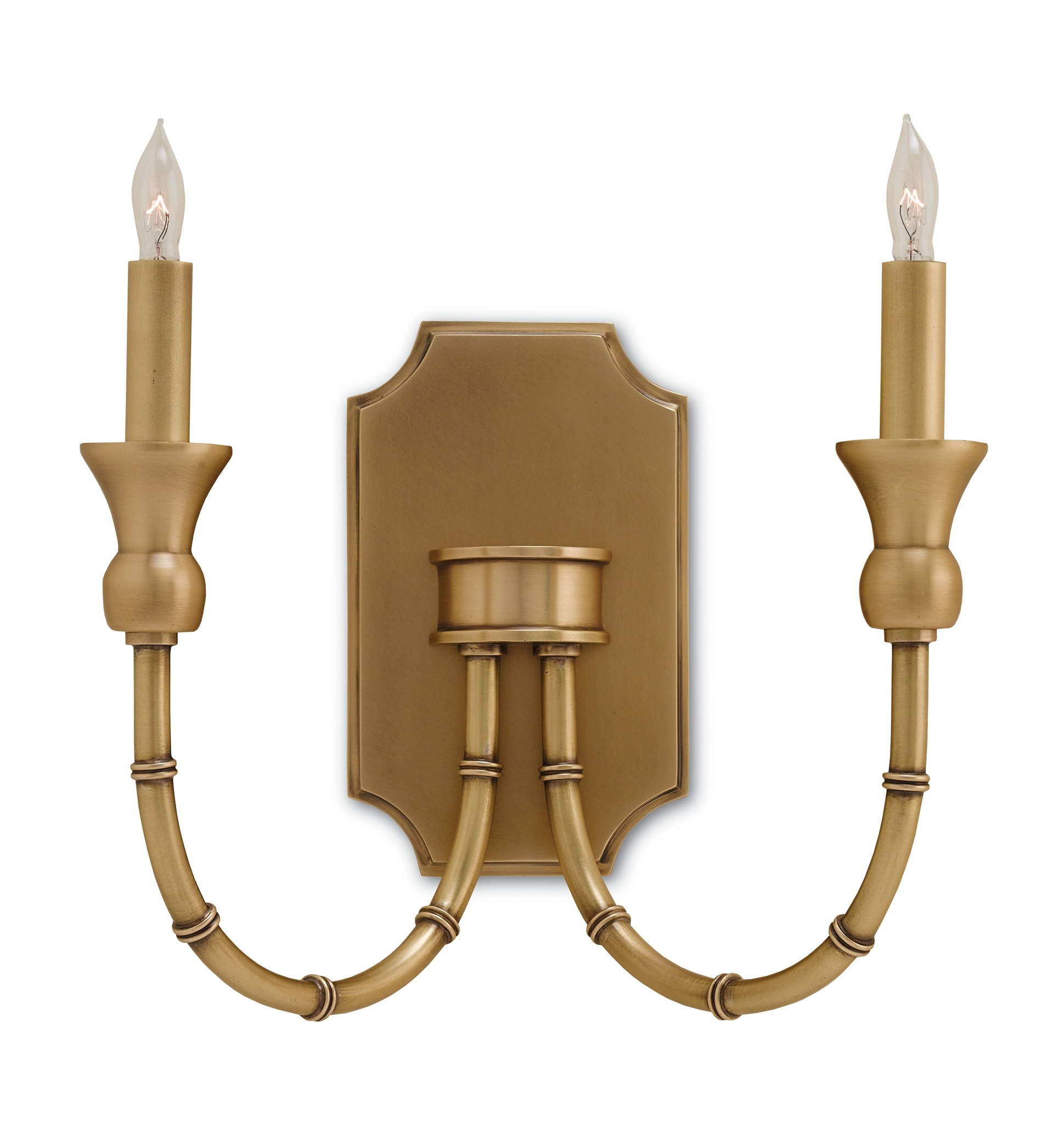 online store 68717 6e94a Imperial Bamboo Wall Light by Currey and Company | FM-5218-CC