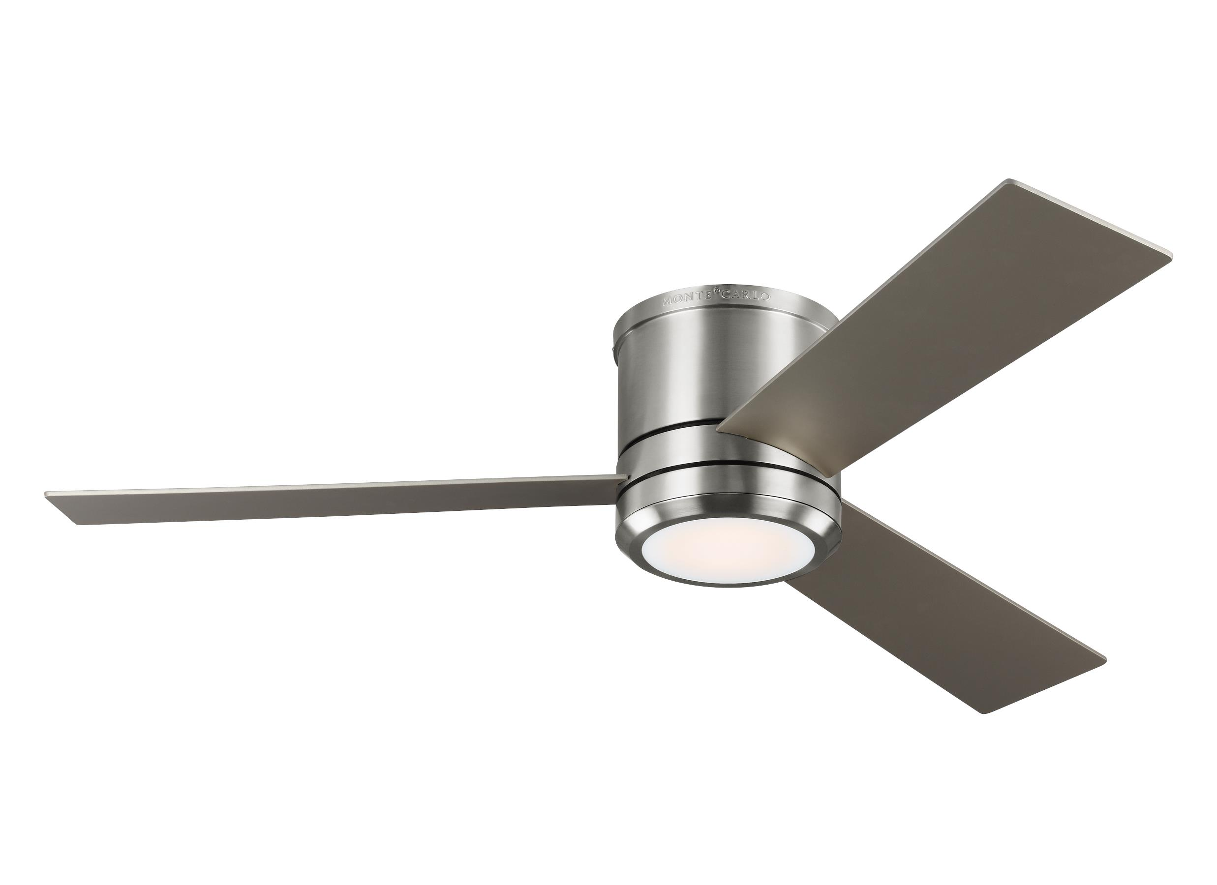 modern fan with light