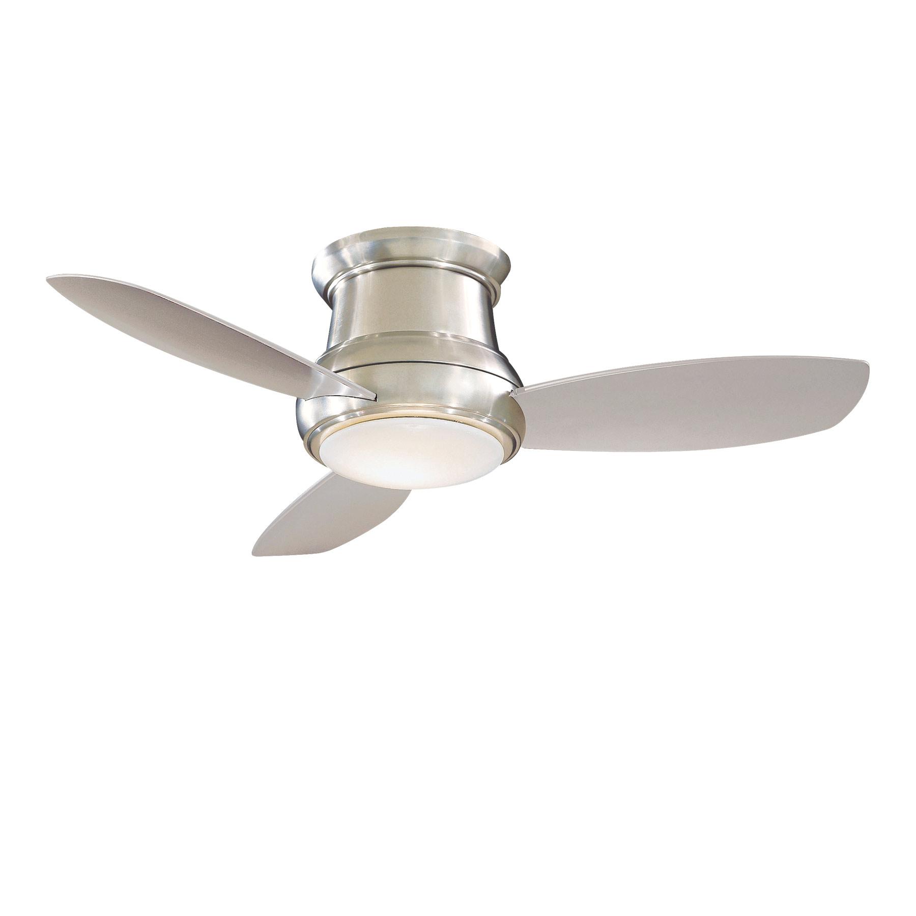 Concept ii ceiling fan led by minka aire f518l bn aloadofball Choice Image