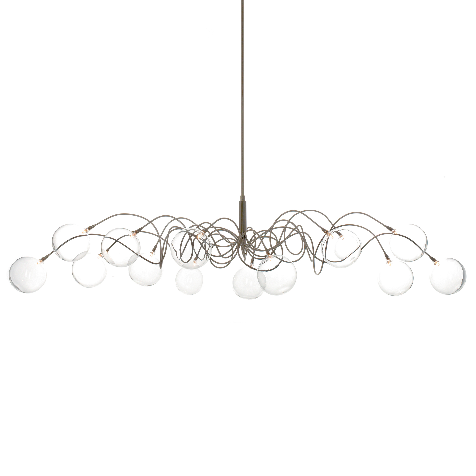 Bubbles Oval Pendant By Harco Loor Ov Hl 14 L