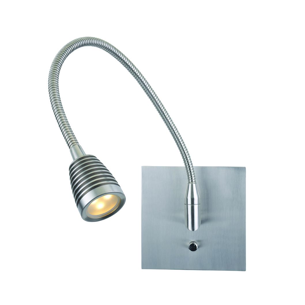 Flex Wall Mounted Gooseneck Task Lamp by Access | 72002LEDD-BS
