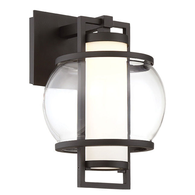 Lucid Outdoor Wall Light By Modern Forms | WS W74612 BK