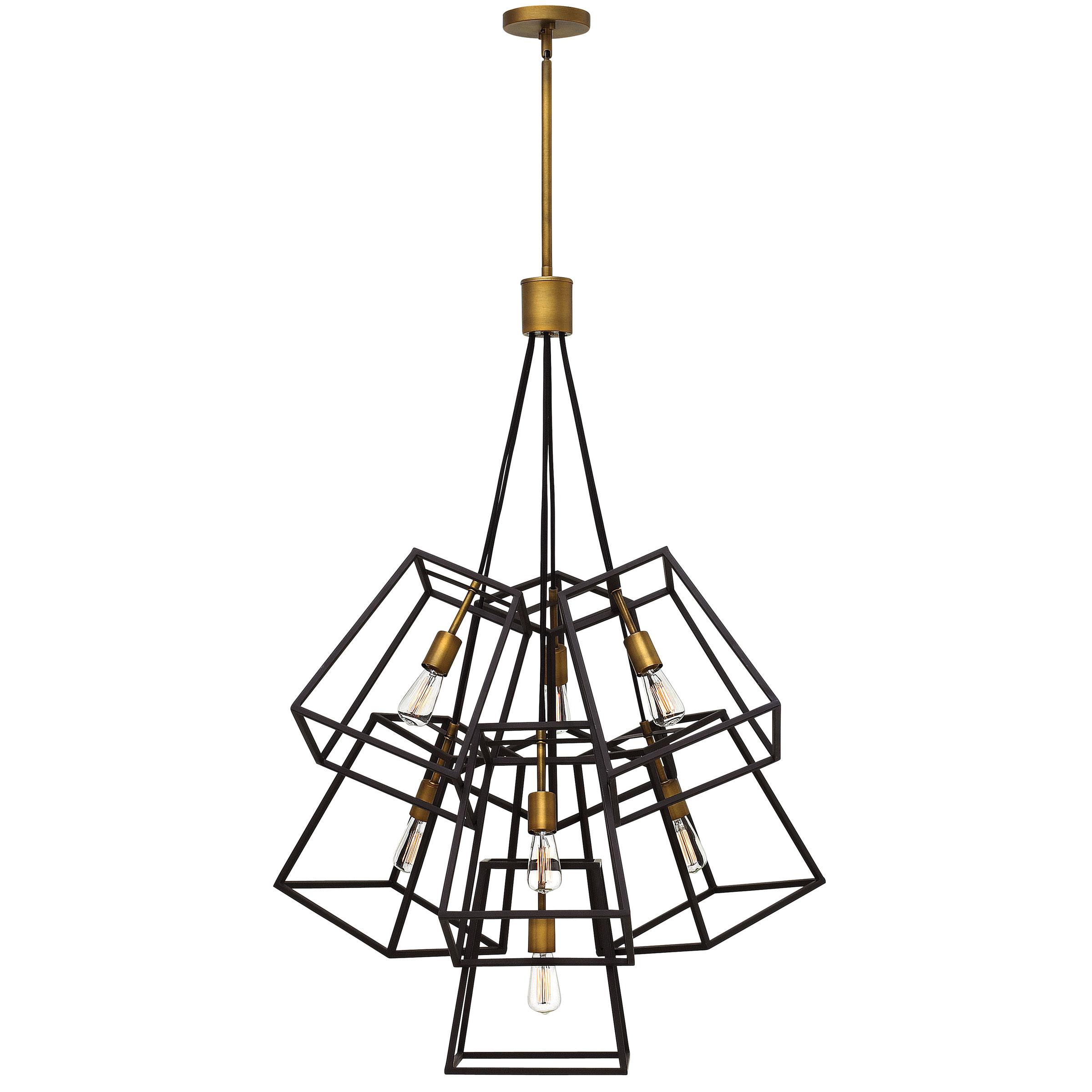 Superb Fulton Multi Light Pendant By Hinkley Lighting | 3357BZ
