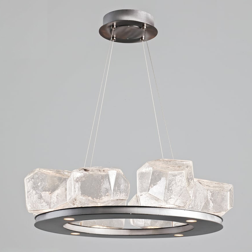 8 gem bezel ring chandelier by hammerton studio chb0039 0b sn c ca1 l1