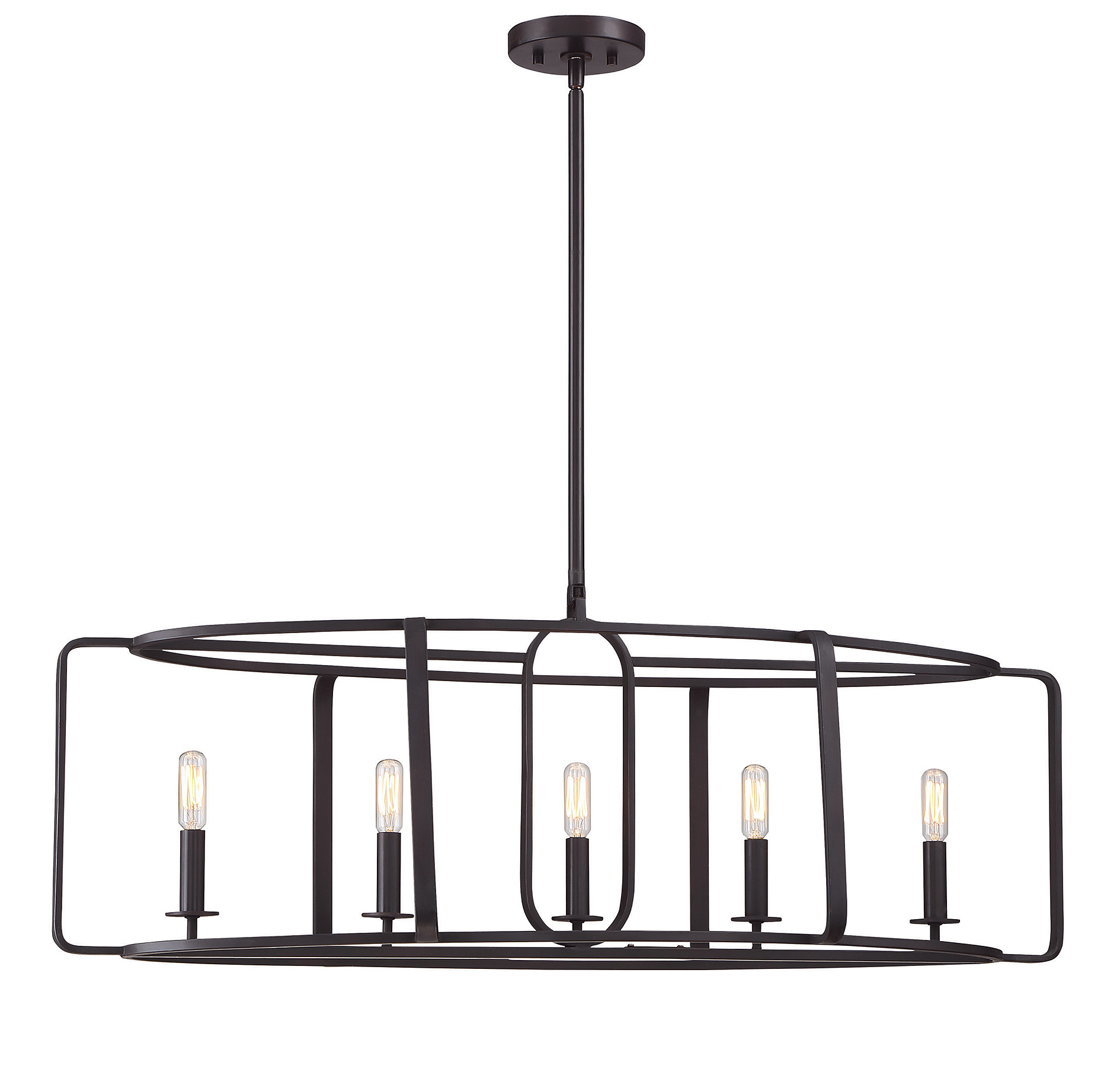 Santina Long Chandelier By Savoy House 1 1180 5 13