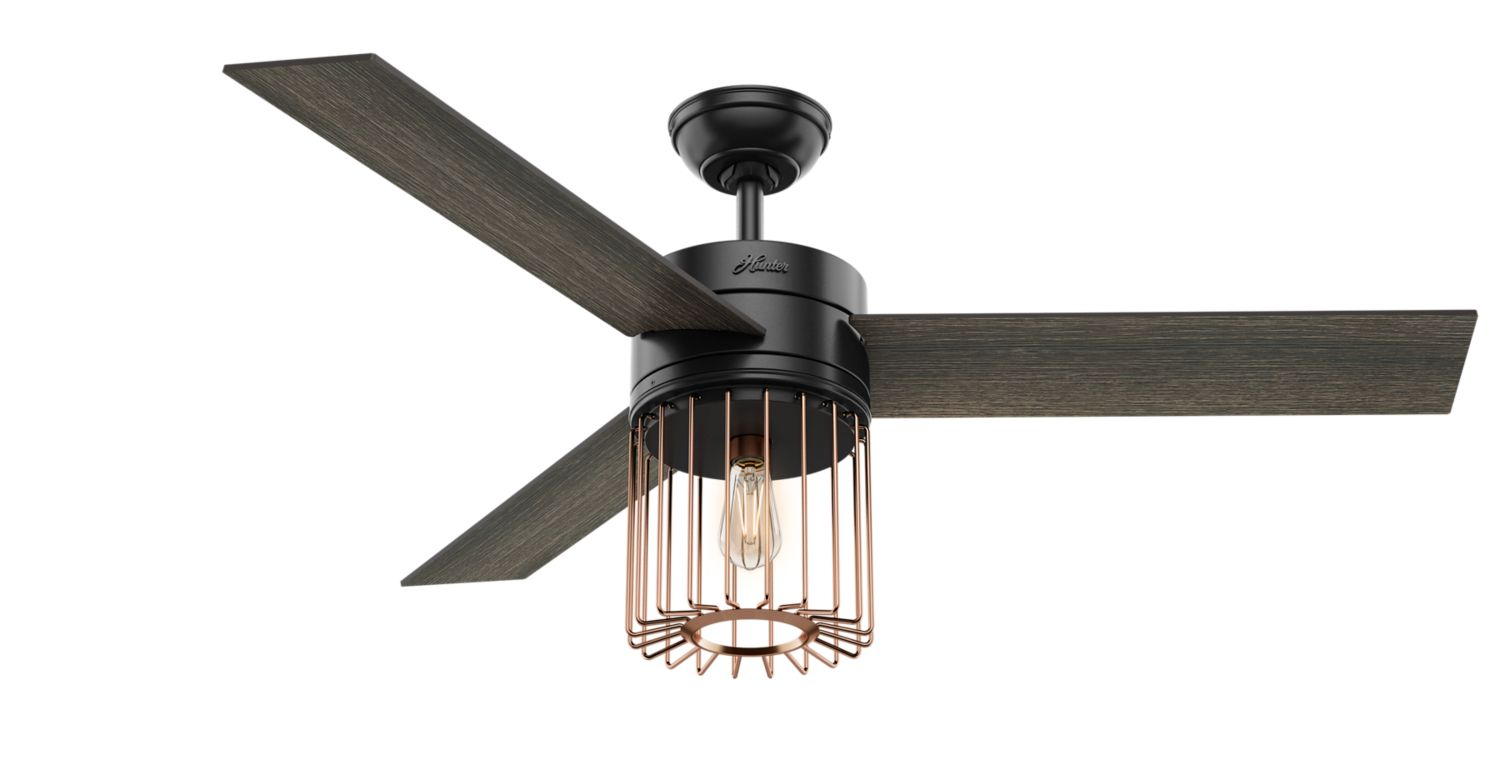 Ronan Ceiling Fan With Light By Hunter 59239 Cieling Wiring Install