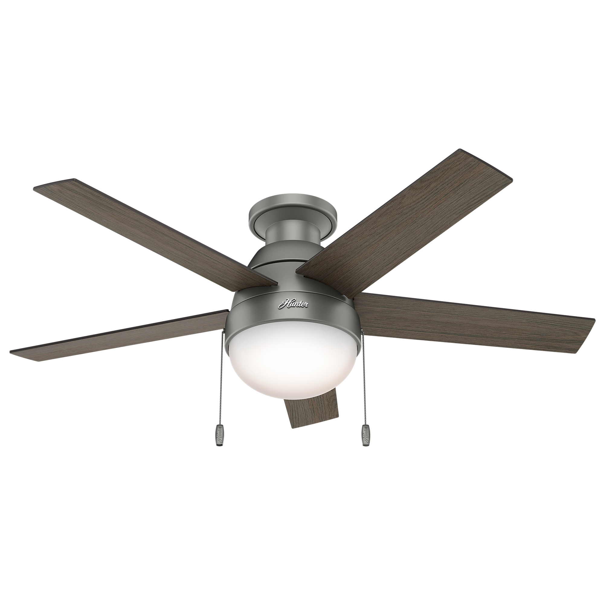 Modern Ceiling Fan With Light By Hunter Fan