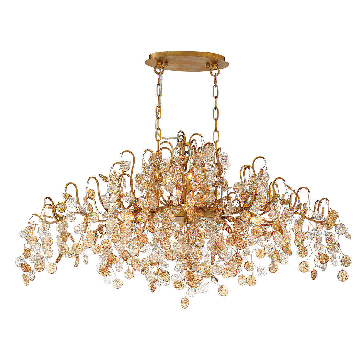 brand van arthur by interior chandelier oval egmond deluxe from