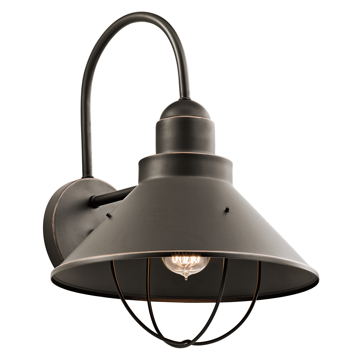 large outdoor wall lights extra large seaside extra large outdoor wall light by kichler 9142oz