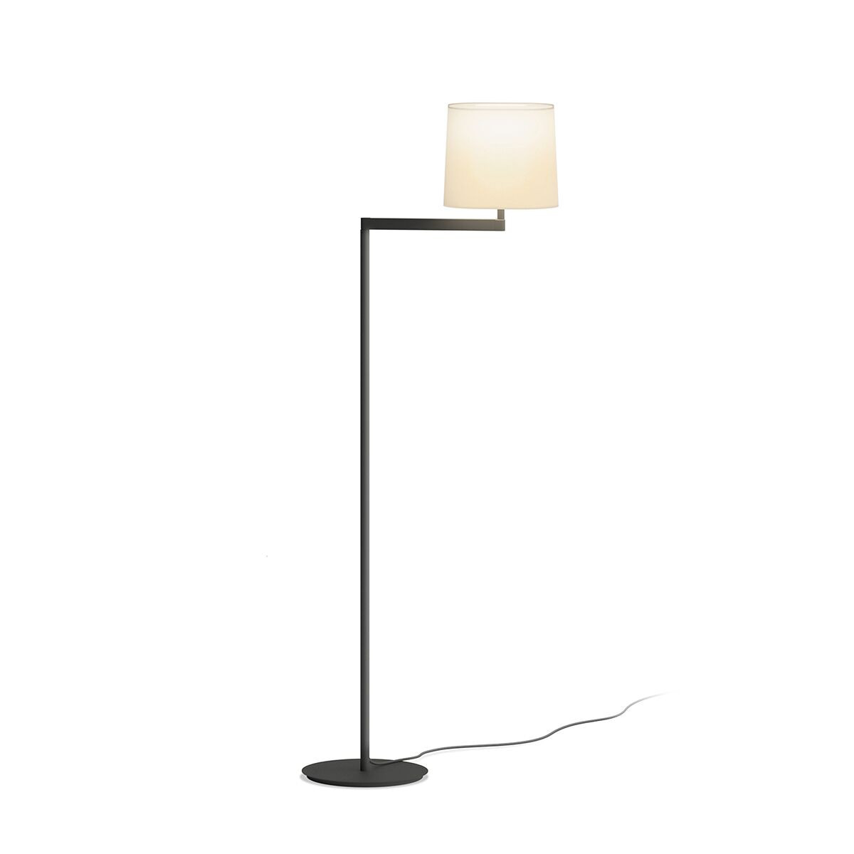 Swing shaded floor lamp by vibia 0503 18 new swing floor lamp by vibia by vibia aloadofball Gallery