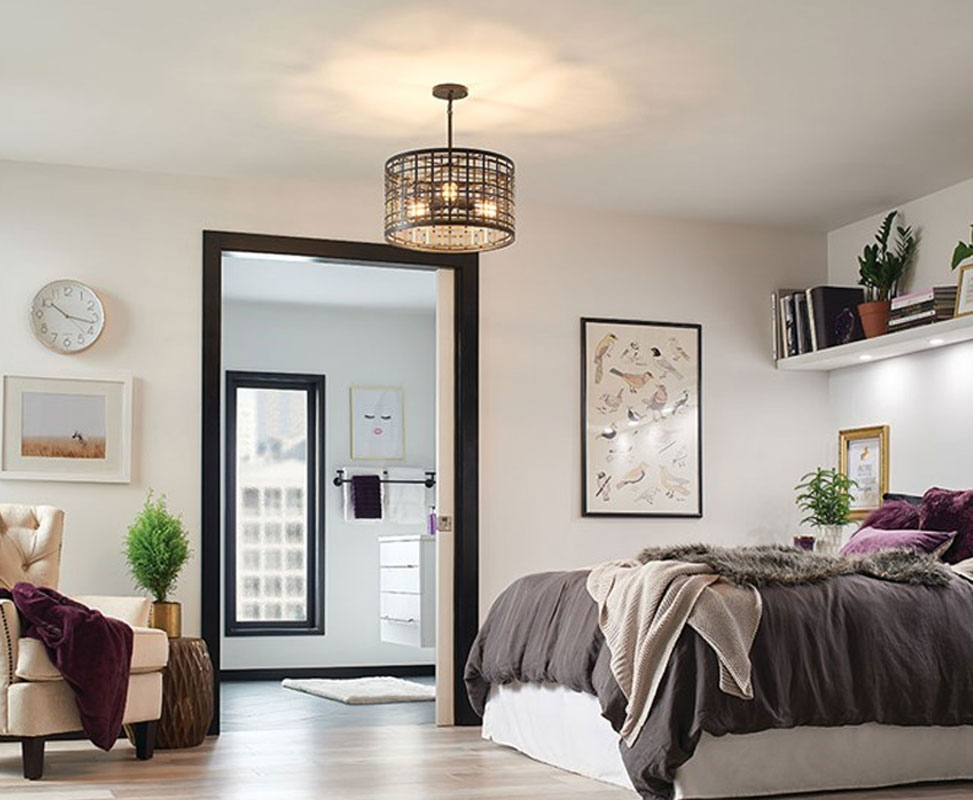 Aldergate convertible chandelier by kichler