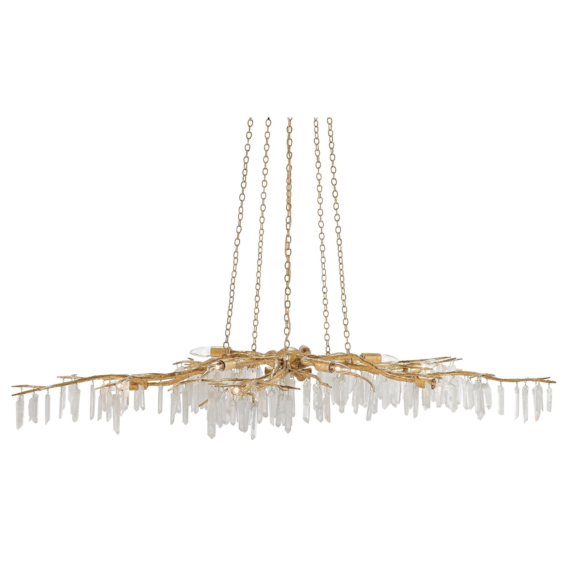Forest Light Chandelier By Currey And