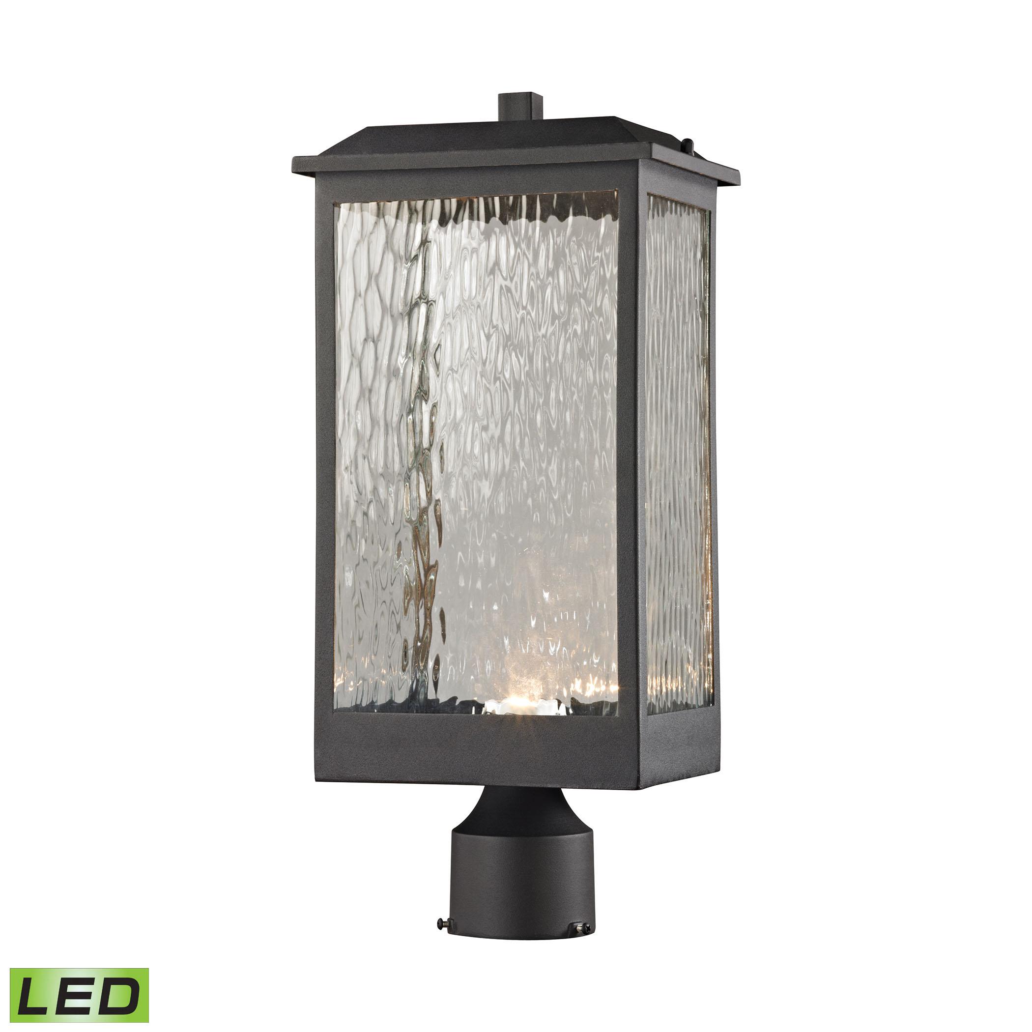Newcastle Led Outdoor Post Light By Elk Lighting 45204 Led