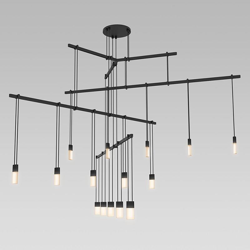 Suspenders 4 tier tri bar pendant by sonneman a way of for Sonneman lighting