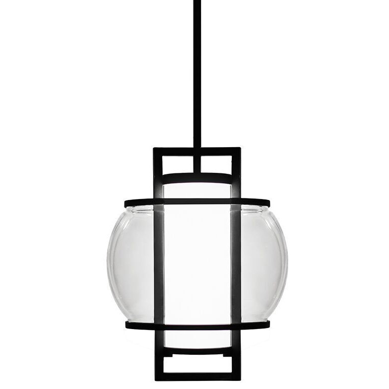 lucid pendant by modern forms pdw74615bk - Modern Forms Lighting