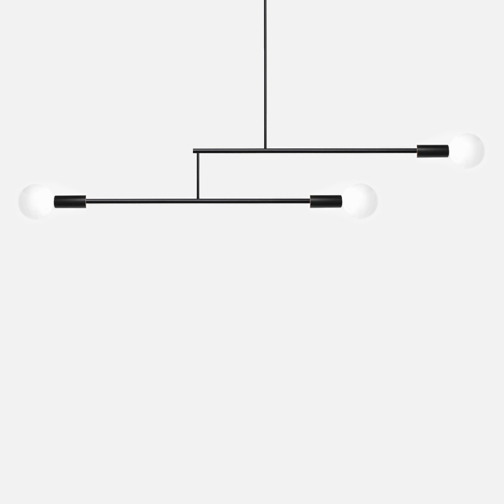 Mobile chandelier by andrew neyer ml 2 blk aloadofball