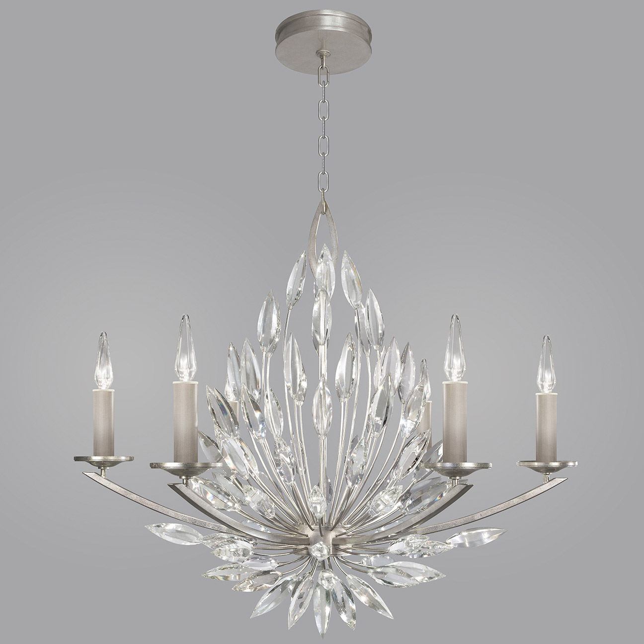 Lily Buds Chandelier By Fine Art Lamps 881140