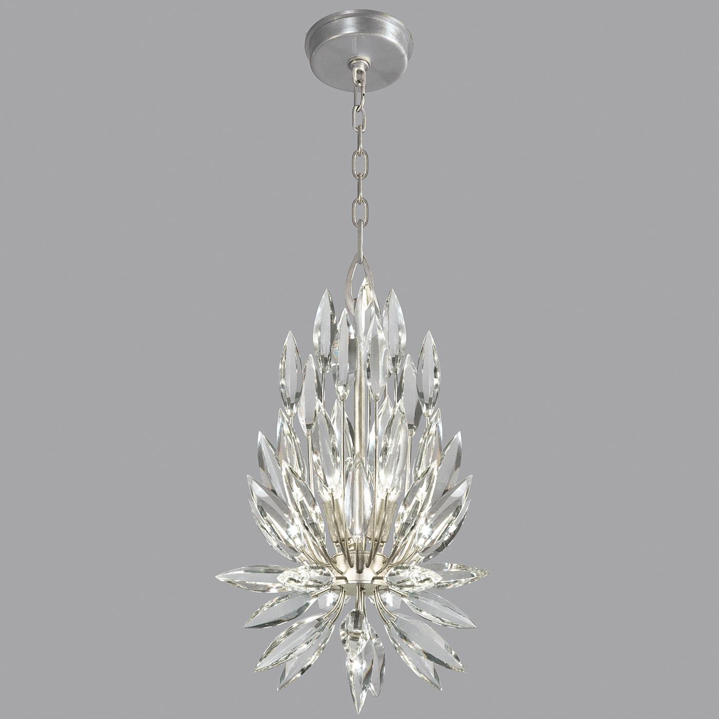 lily buds teardrop pendant by fine art lamps 881540