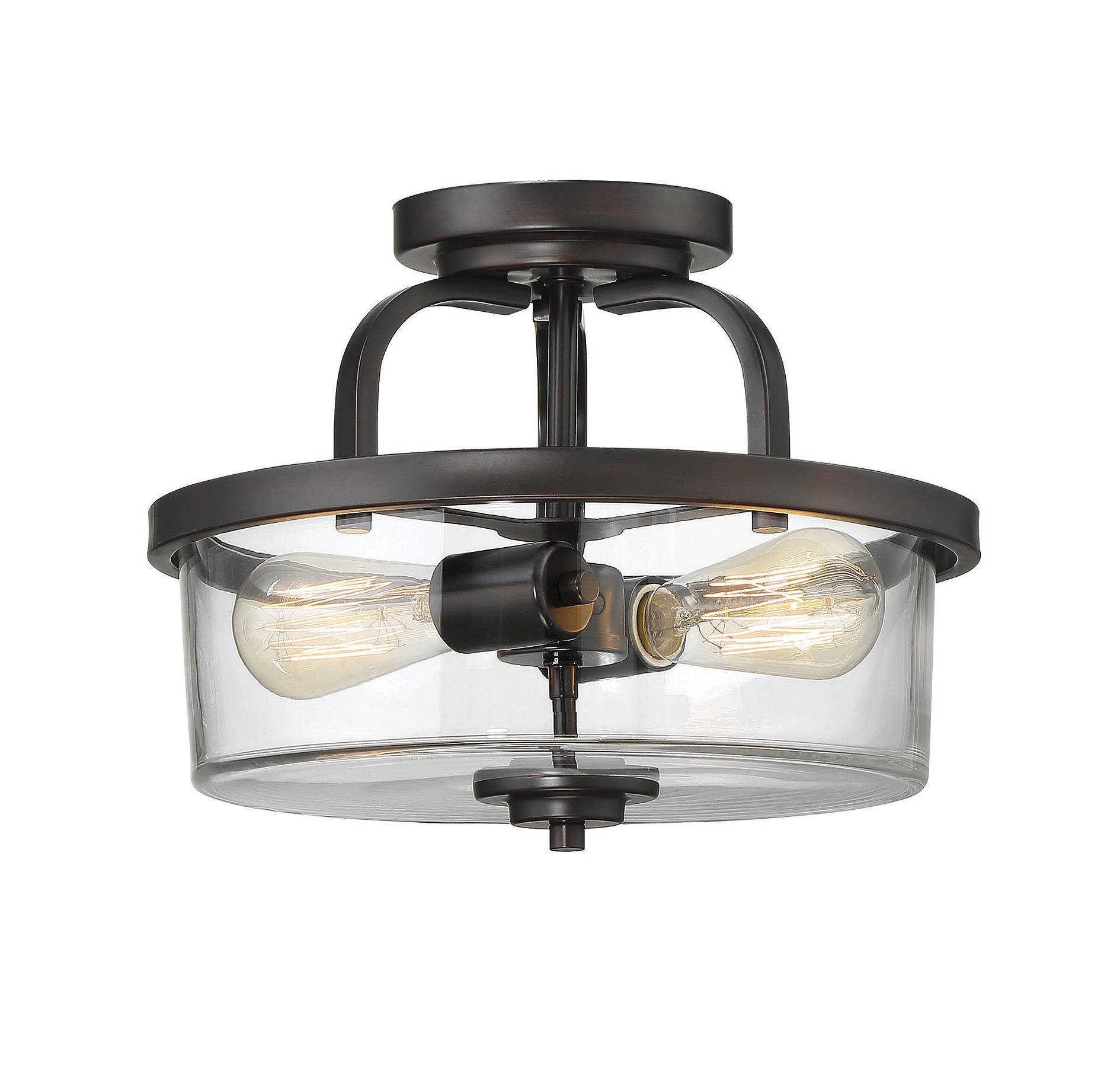 Tulsa Ceiling Semi Flush Light By Savoy House 6 6053 2 13