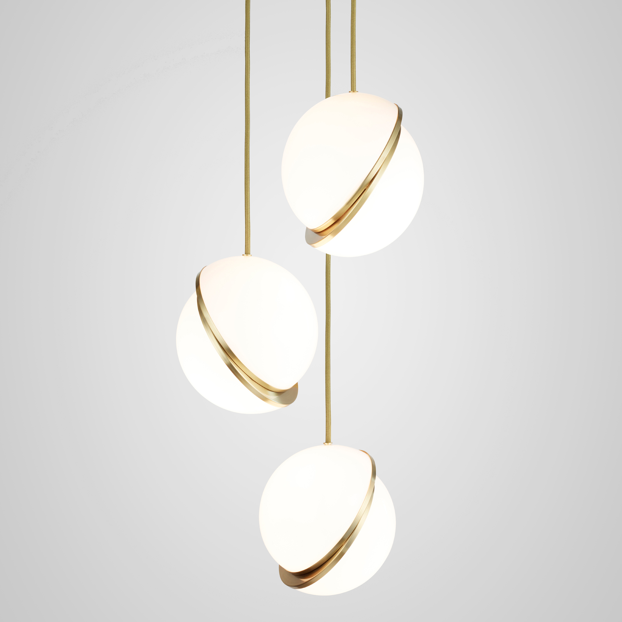 Crescent Multi Light Pendant by Lee Broom