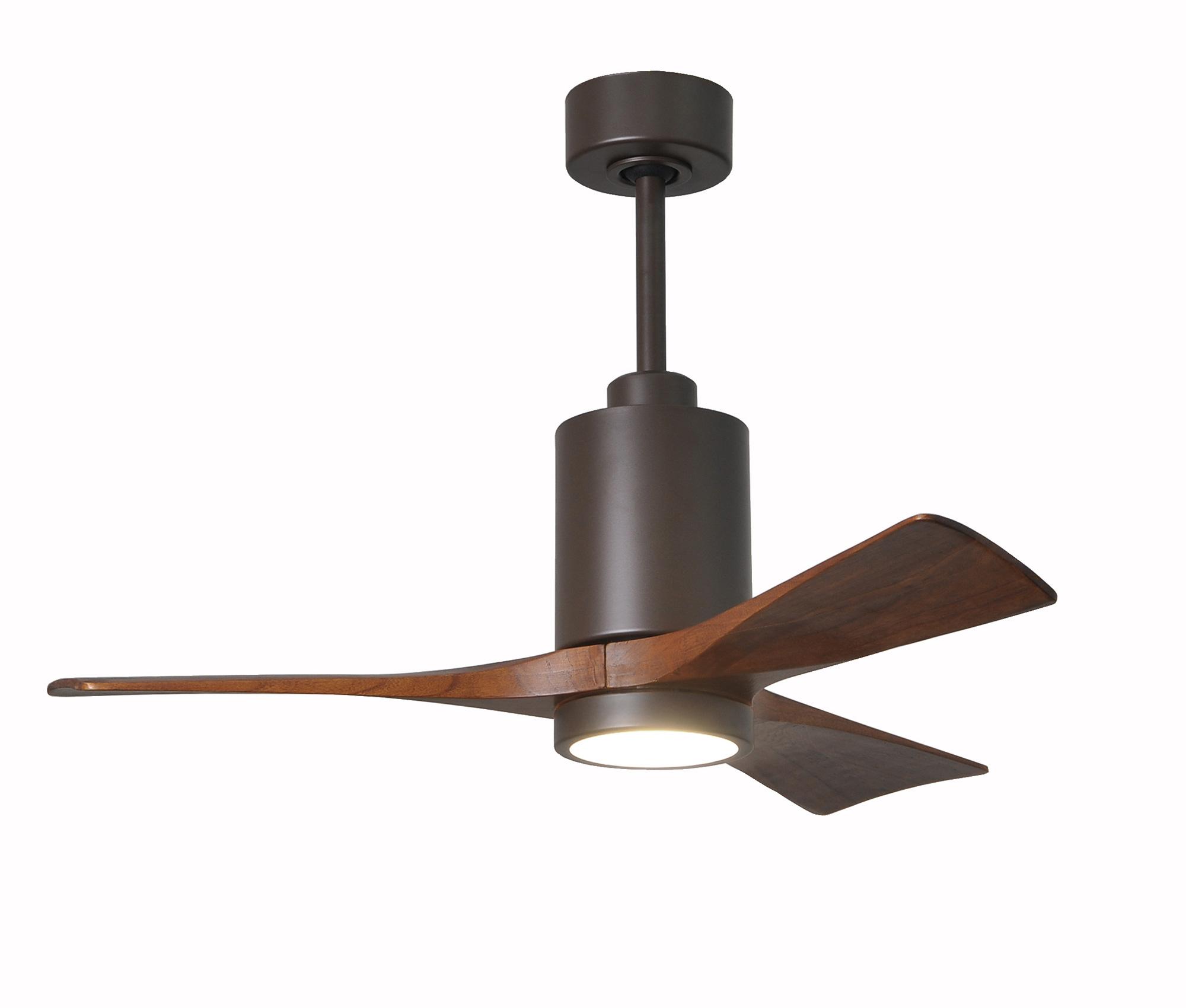 Minka Aire 52 Gauguin Tropical 4 Blade Indoor Outdoor: Patricia 3 Blade Indoor / Outdoor Ceiling Fan With Light