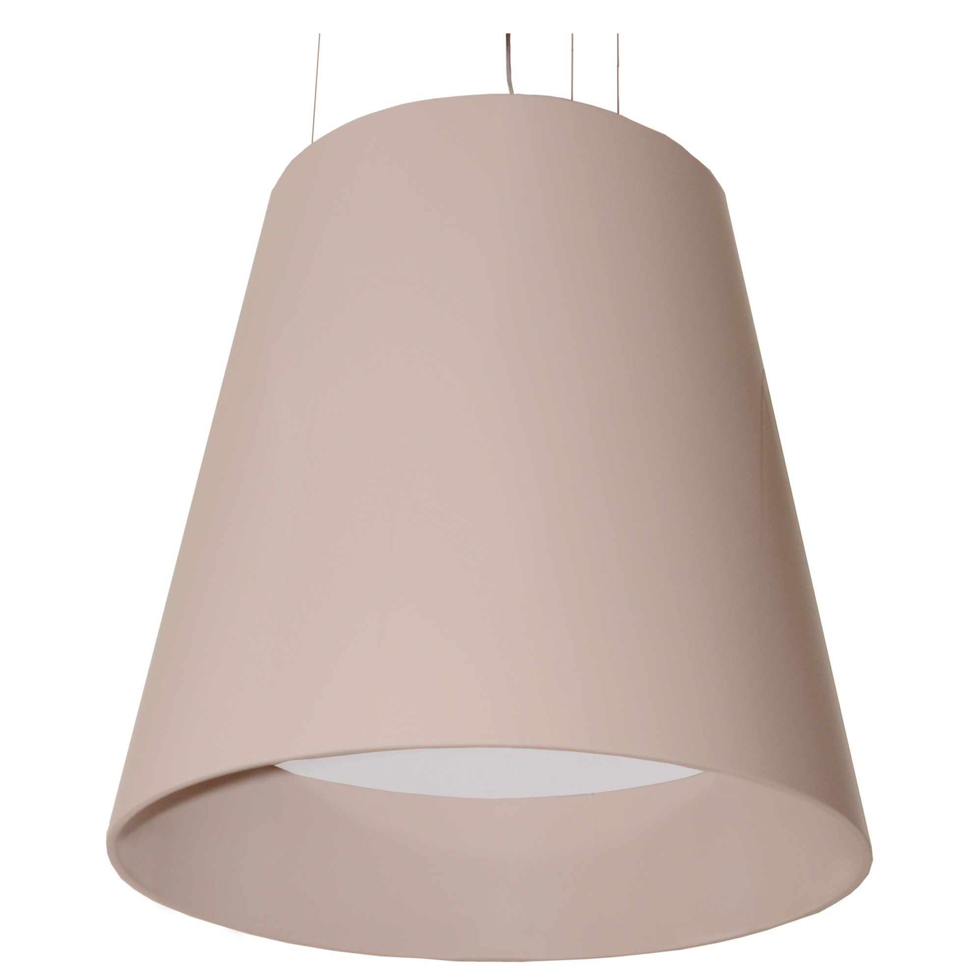 ceiling modern shades over cluster textile soprana cone light image pendant table