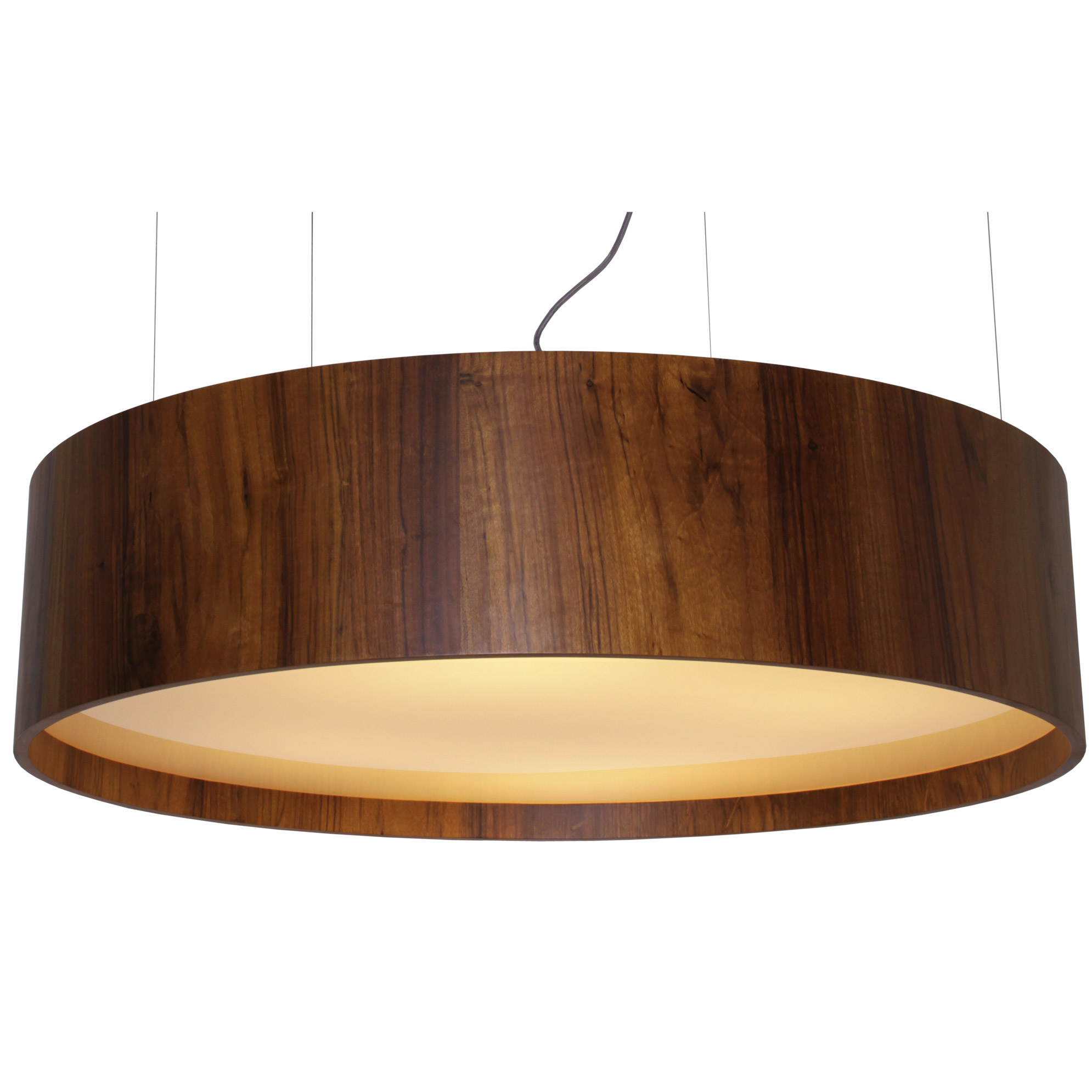 products fabric ceiling lamp linea drum allegro light with brushed ll di pendant nickel white shade unlit web fixture