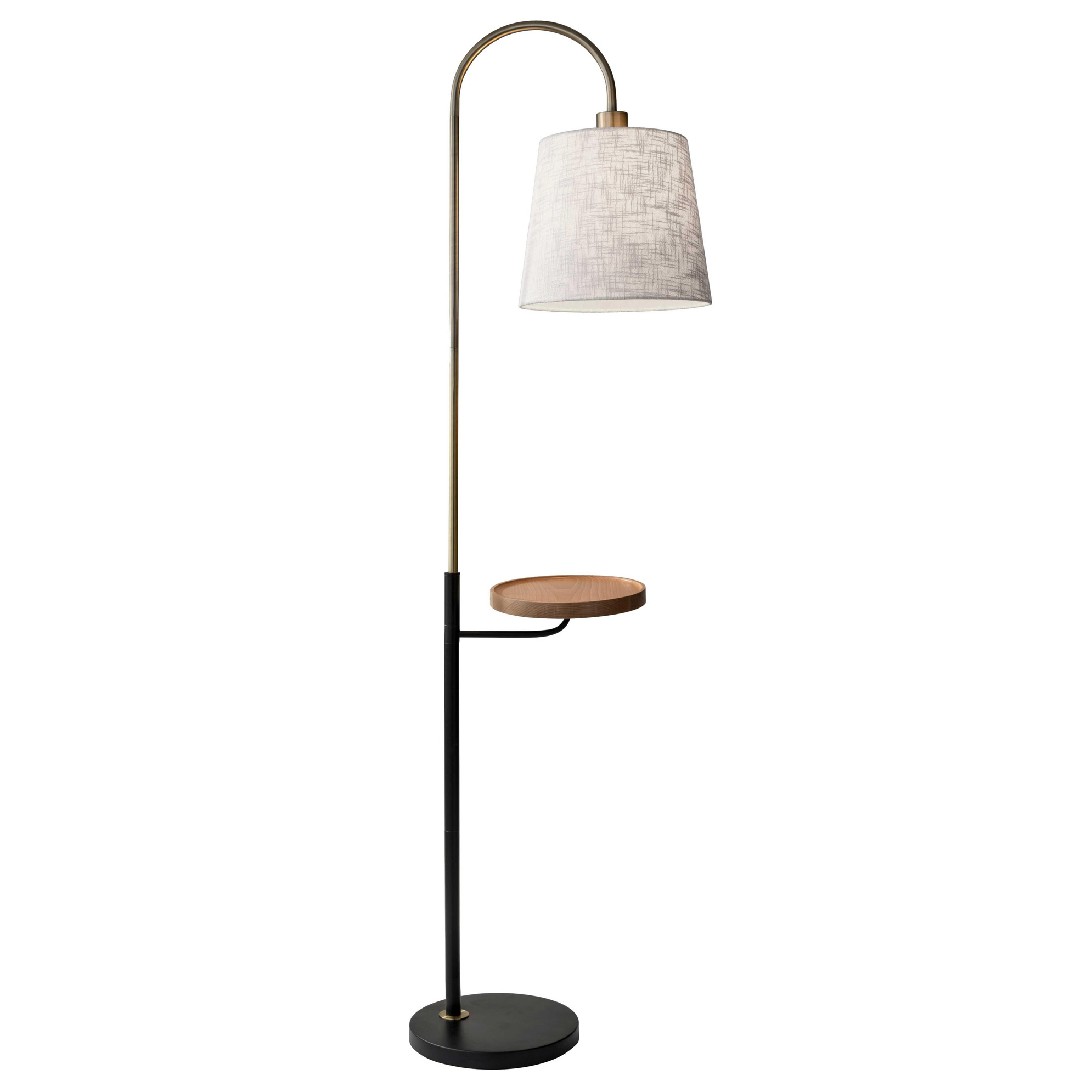 Jeffrey Shelf Floor Lamp By Adesso Corp. | 3408 21