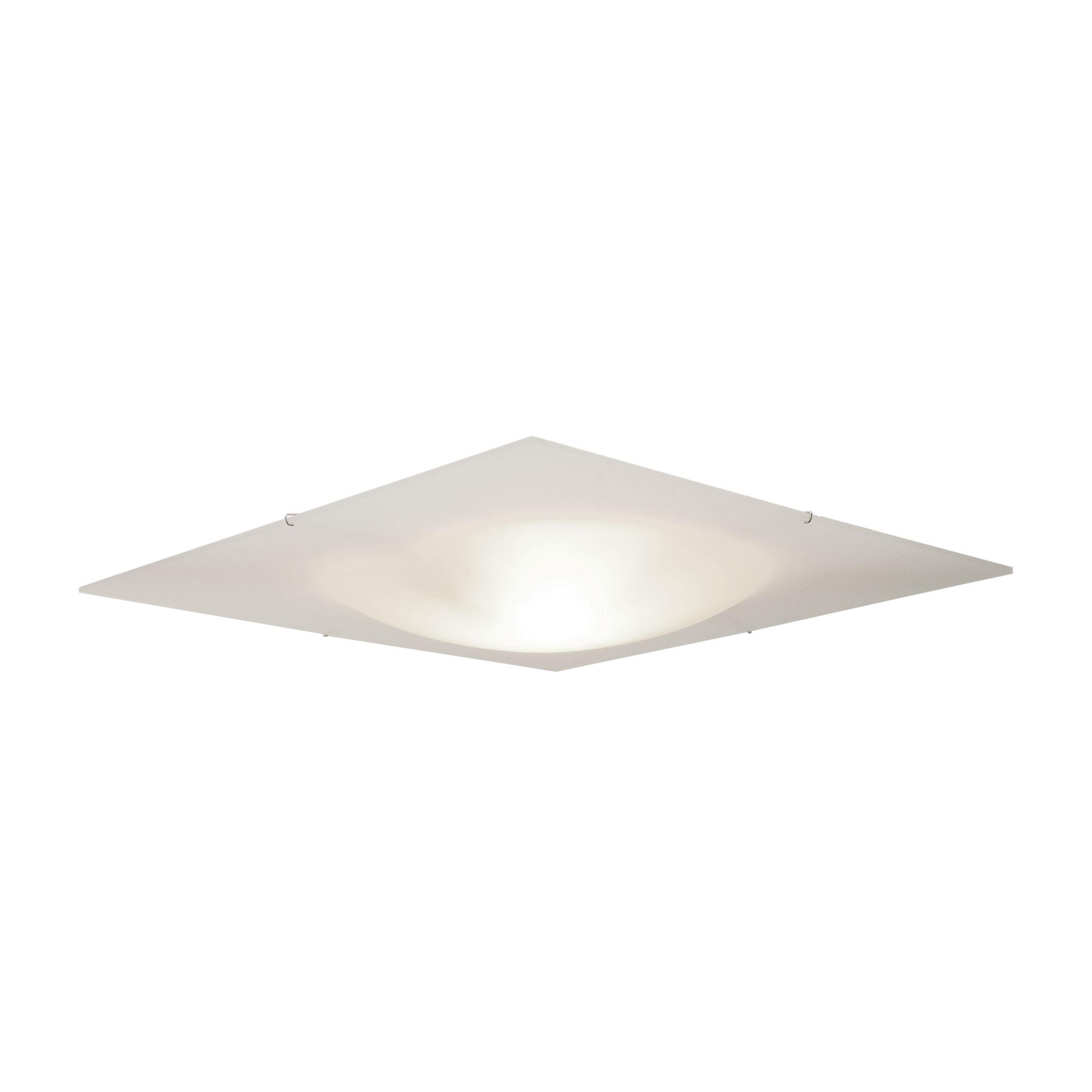 Xenon Ceiling Lights : Vanilla sky square xenon ceiling flush mount by edge