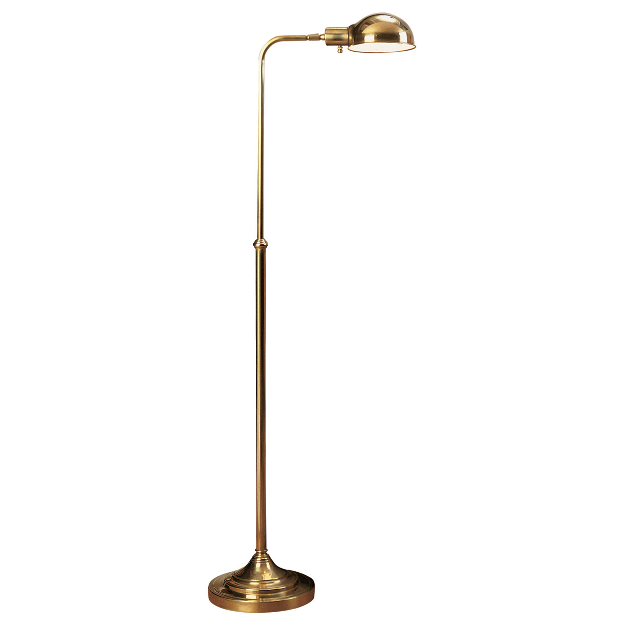 Kinetic Adjustable Pharmacy Floor Lamp By Robert Abbey Ra 1505