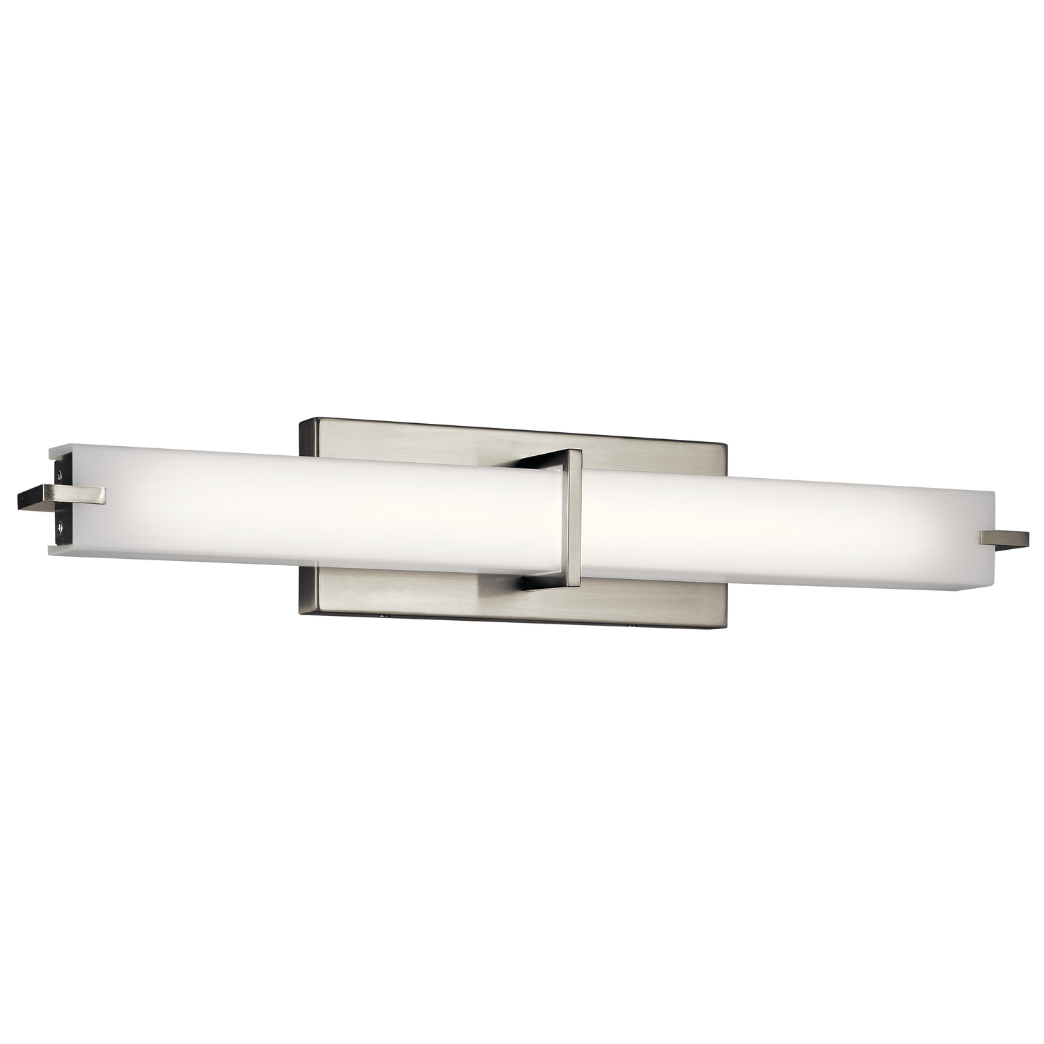 Flat Linear Bathroom Vanity Light By Kichler | 11146NILED