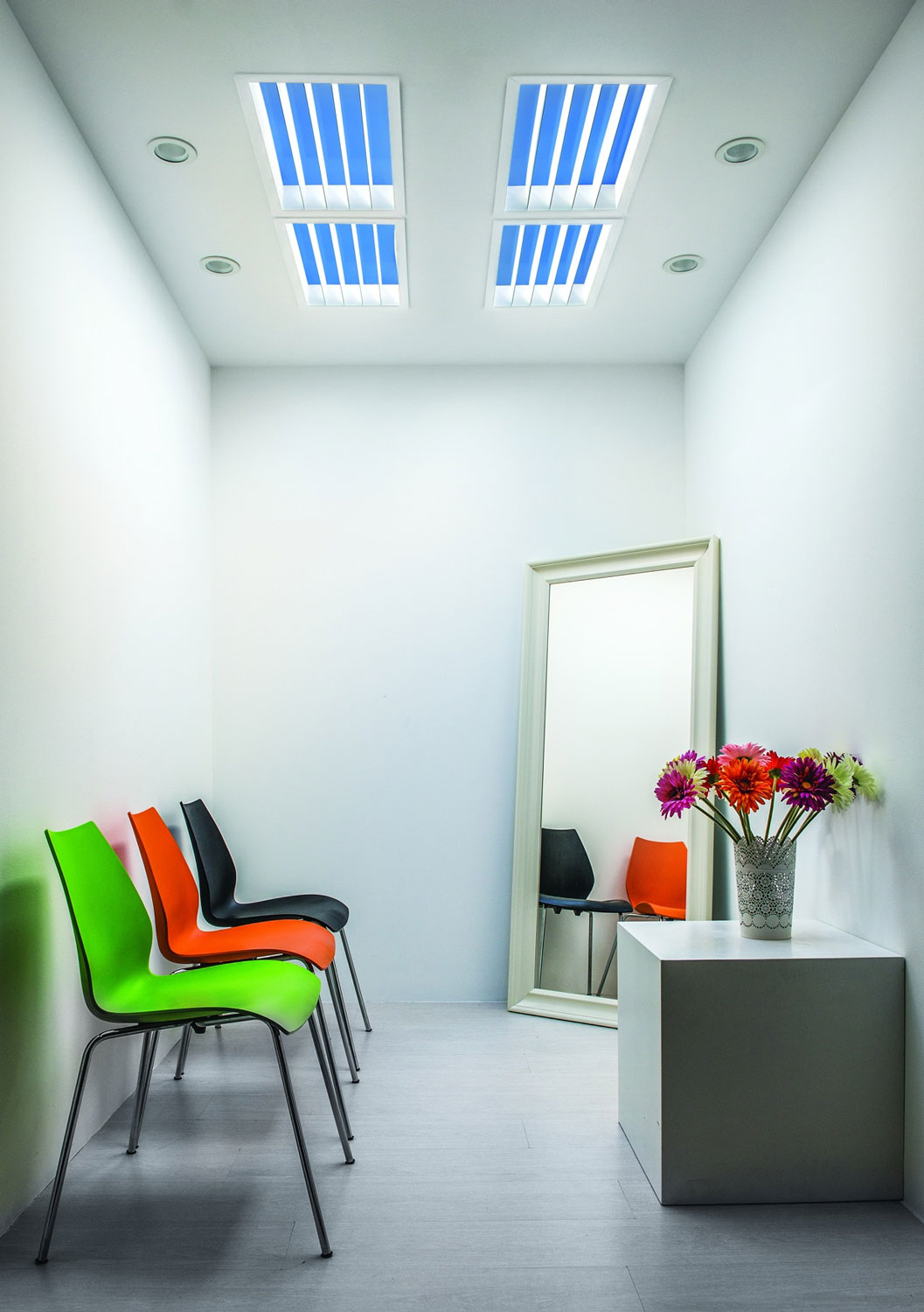 St Tivano Linear Louver Artificial Skylight By Coelux St