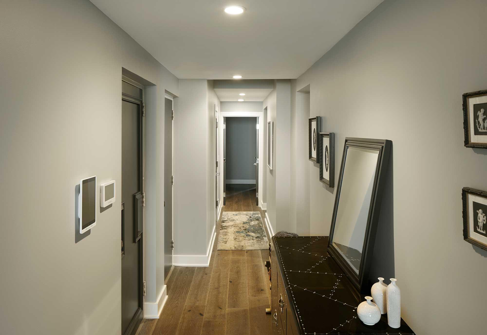Installation Gallery Hallway Lighting