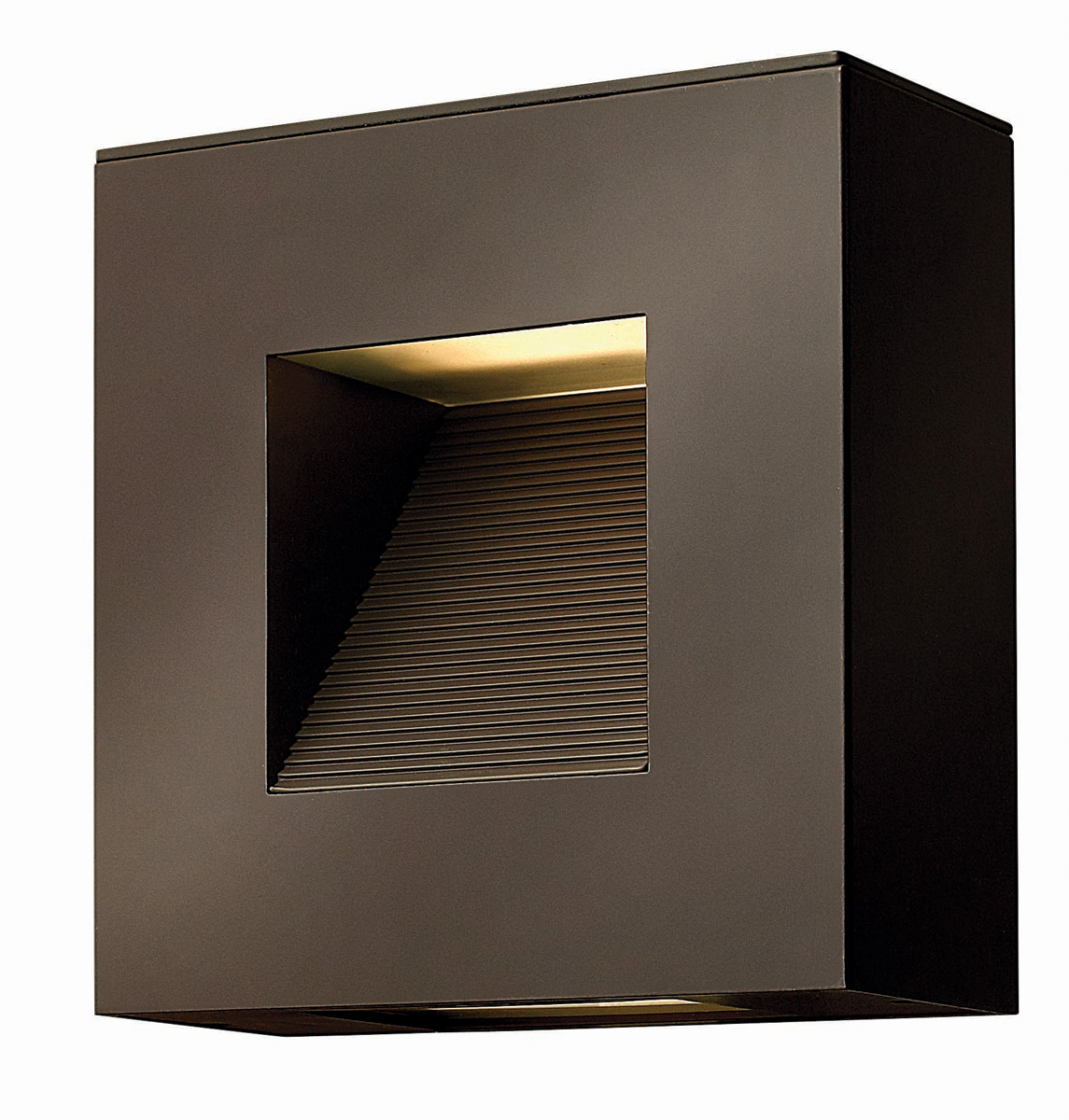 Luna Square Outdoor Wall Sconce by Hinkley Lighting   1647bz