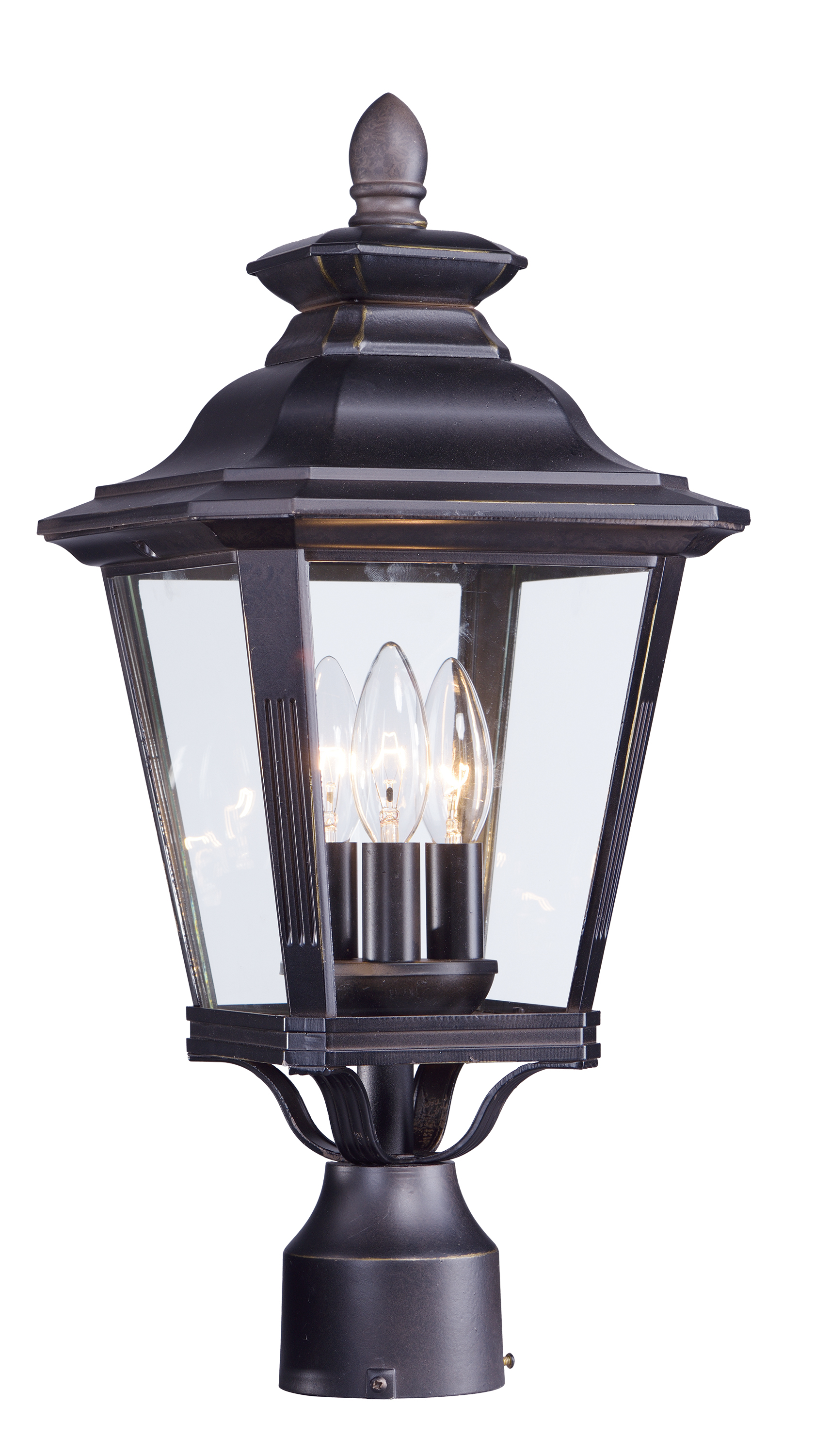 Knoxville outdoor post light by maxim lighting