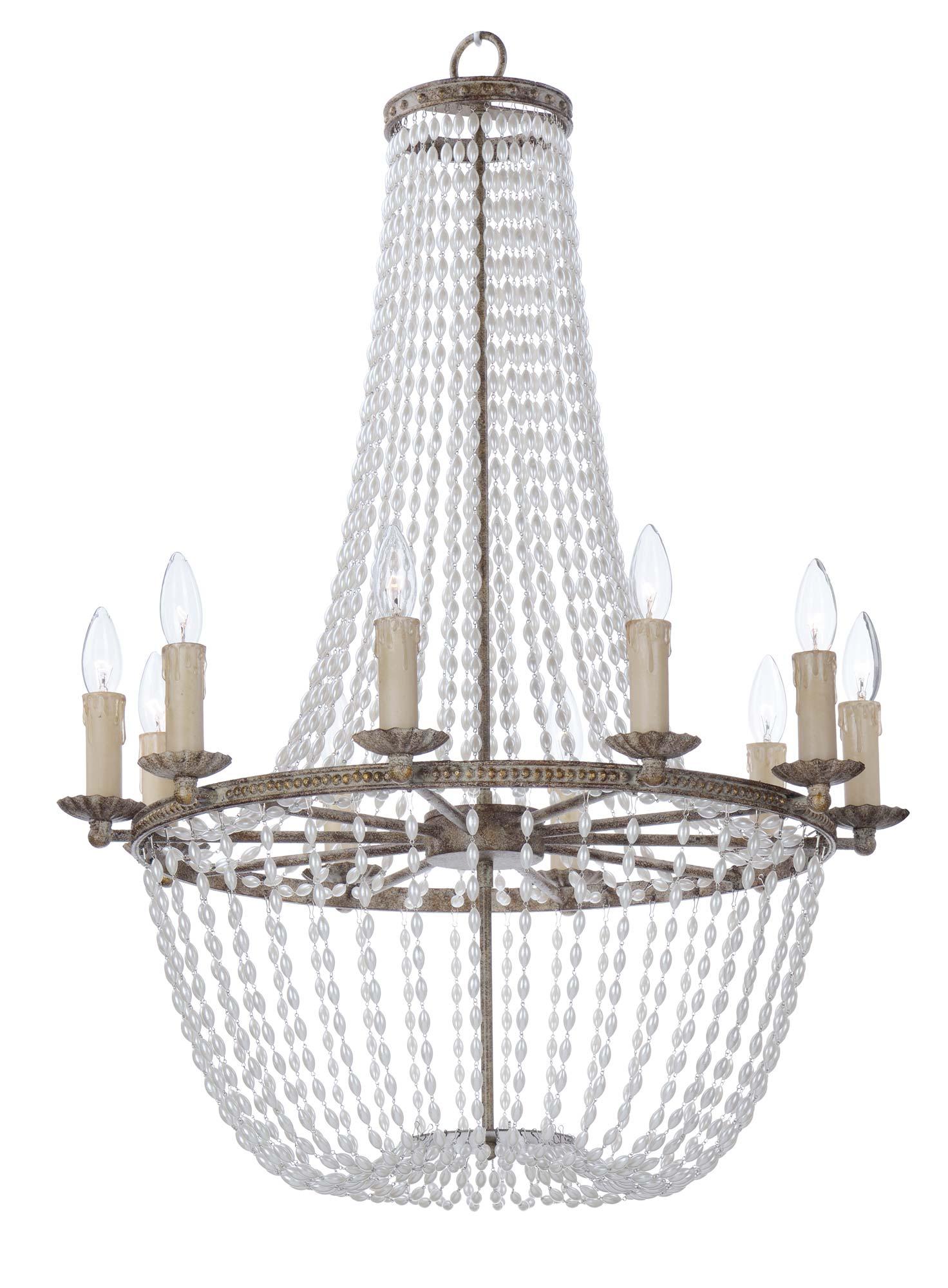 Gisele chandelier by maxim lighting
