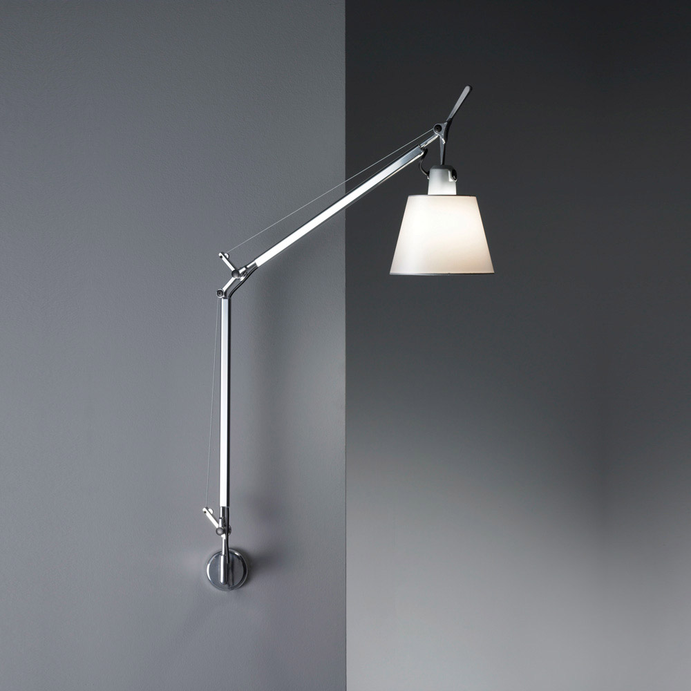 Night owl reading lamps - Tolomeo Shade Wall Light Hardwired