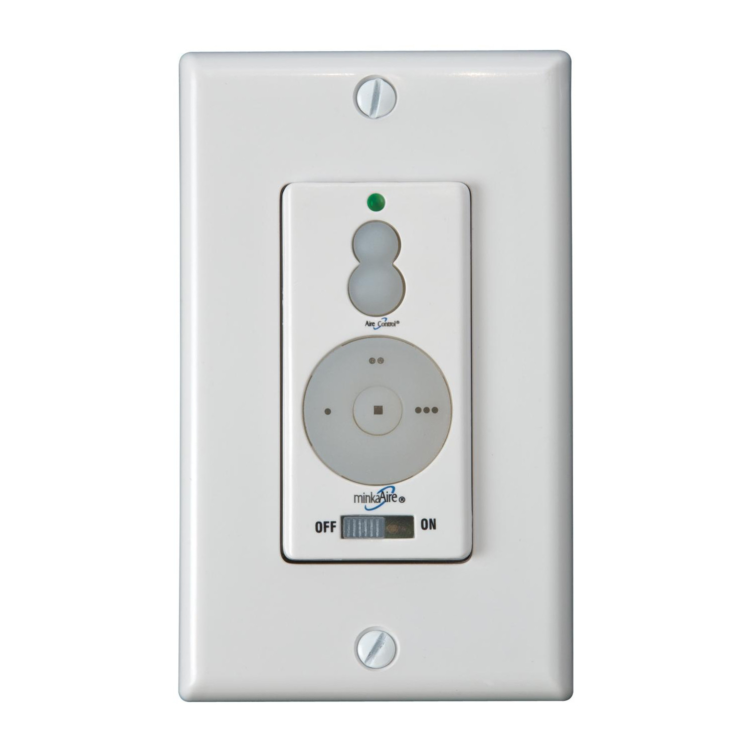 Wall Mounted 3 Speed Fan Control by Minka Aire