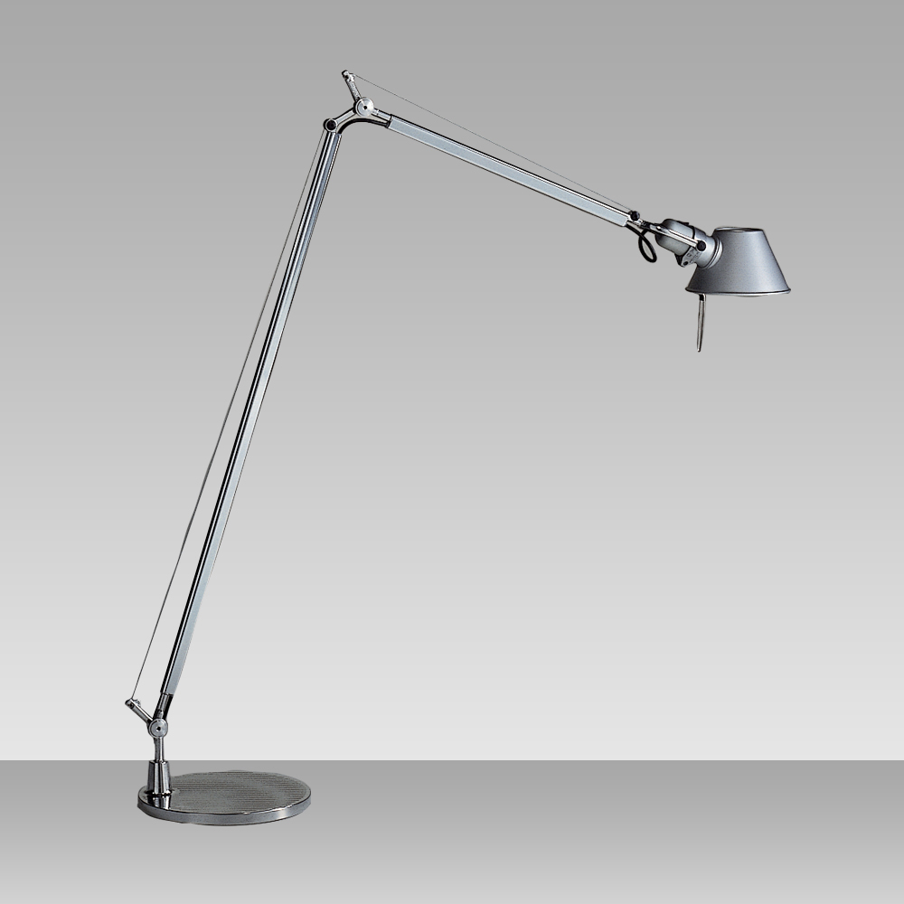 tolomeo reading floor lamp by artemide tlr0100. Black Bedroom Furniture Sets. Home Design Ideas