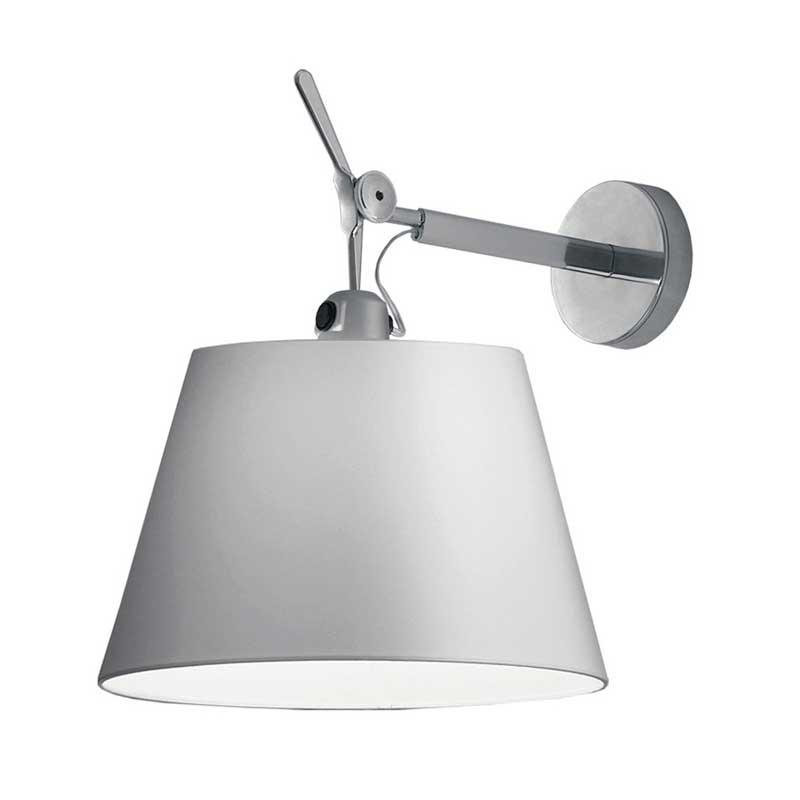 tolomeo shade spot wall light by artemide tol1173. Black Bedroom Furniture Sets. Home Design Ideas