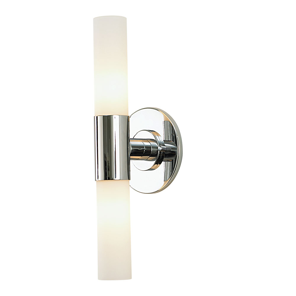 double cylinder bath vanity light by alico industries bv820 10 15 - Double Sconce Bathroom Lighting