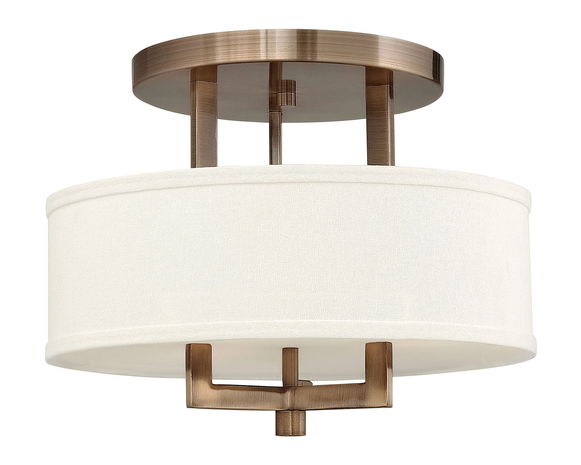 hampton semi flush ceiling light by hinkley lighting 3200br