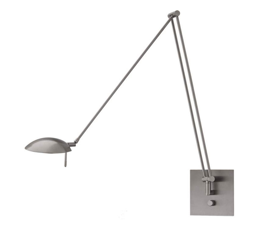 Bernie Turbo Swing Arm Wall Light By Holtkoetter | 8195LED SN