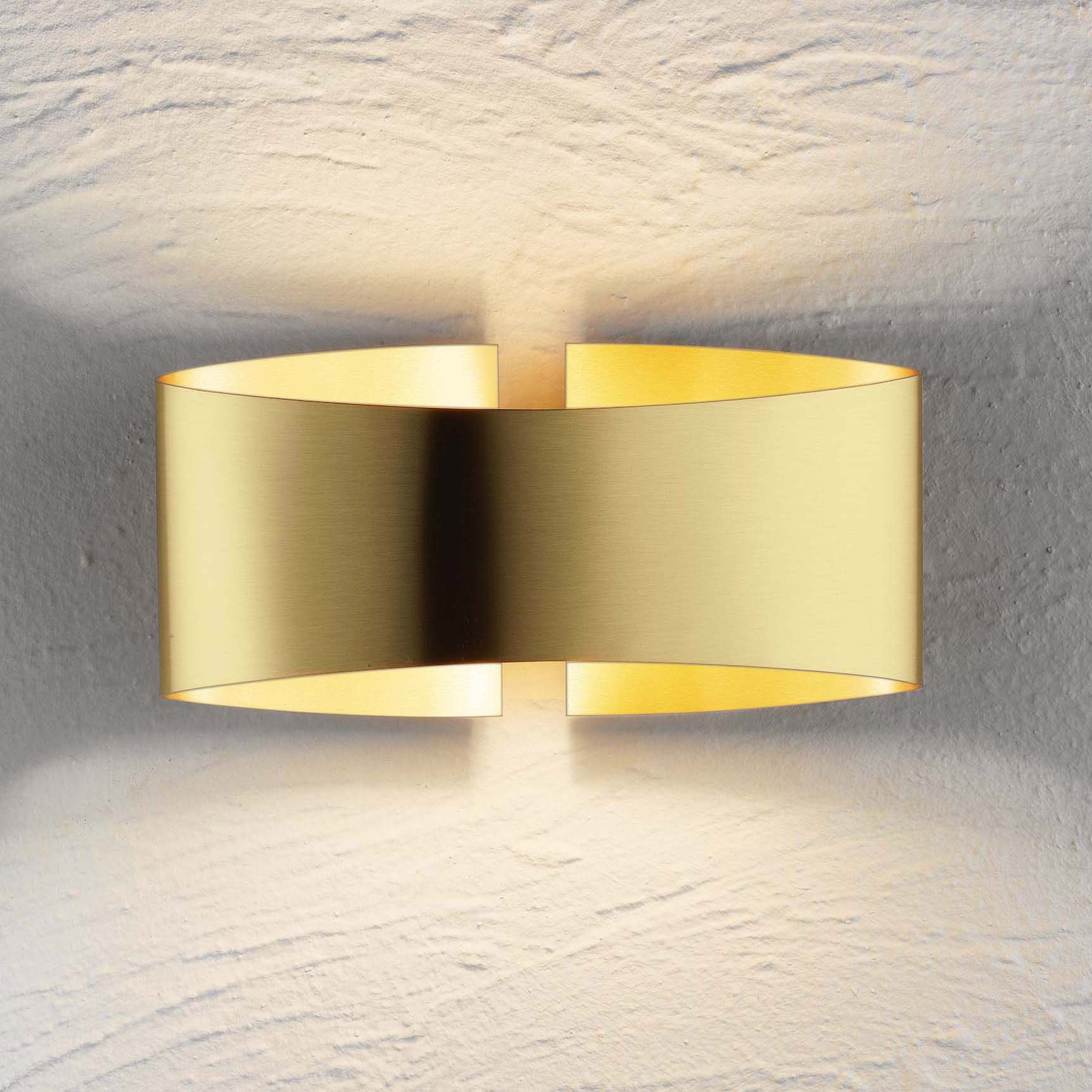 Voila Metal Wall Light By Holtkoetter 8501 Bb