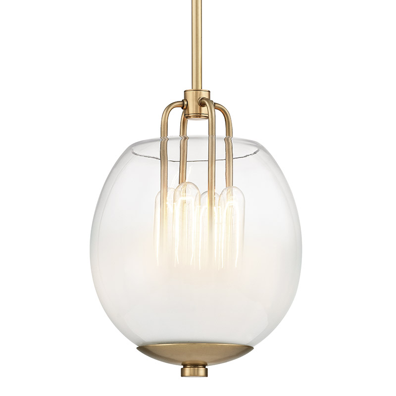 Sawyer Pendant By Hudson Valley Lighting 5709 Agb