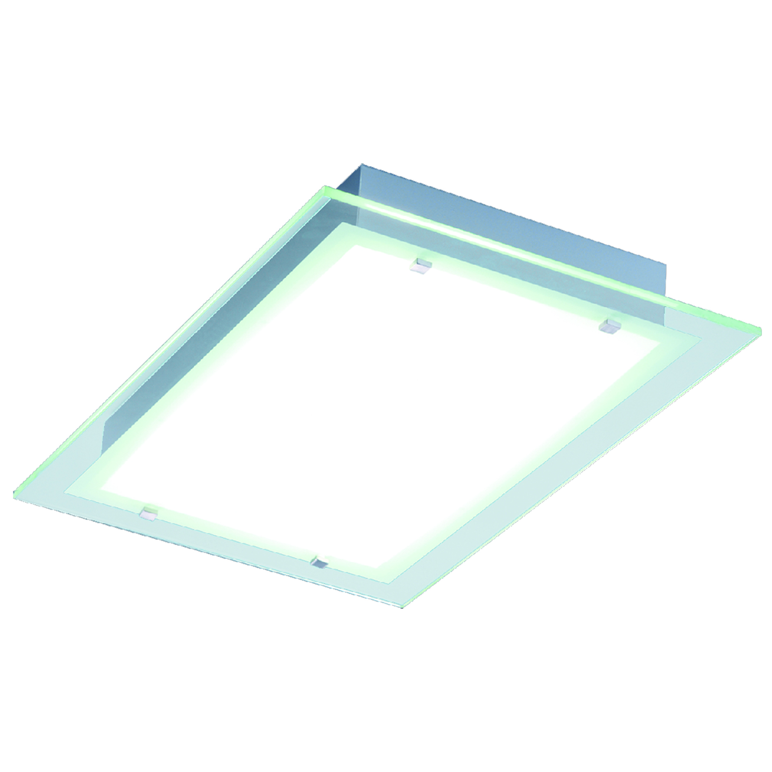 Contempra rectangle ceiling light fixture by et2 e22121 24al
