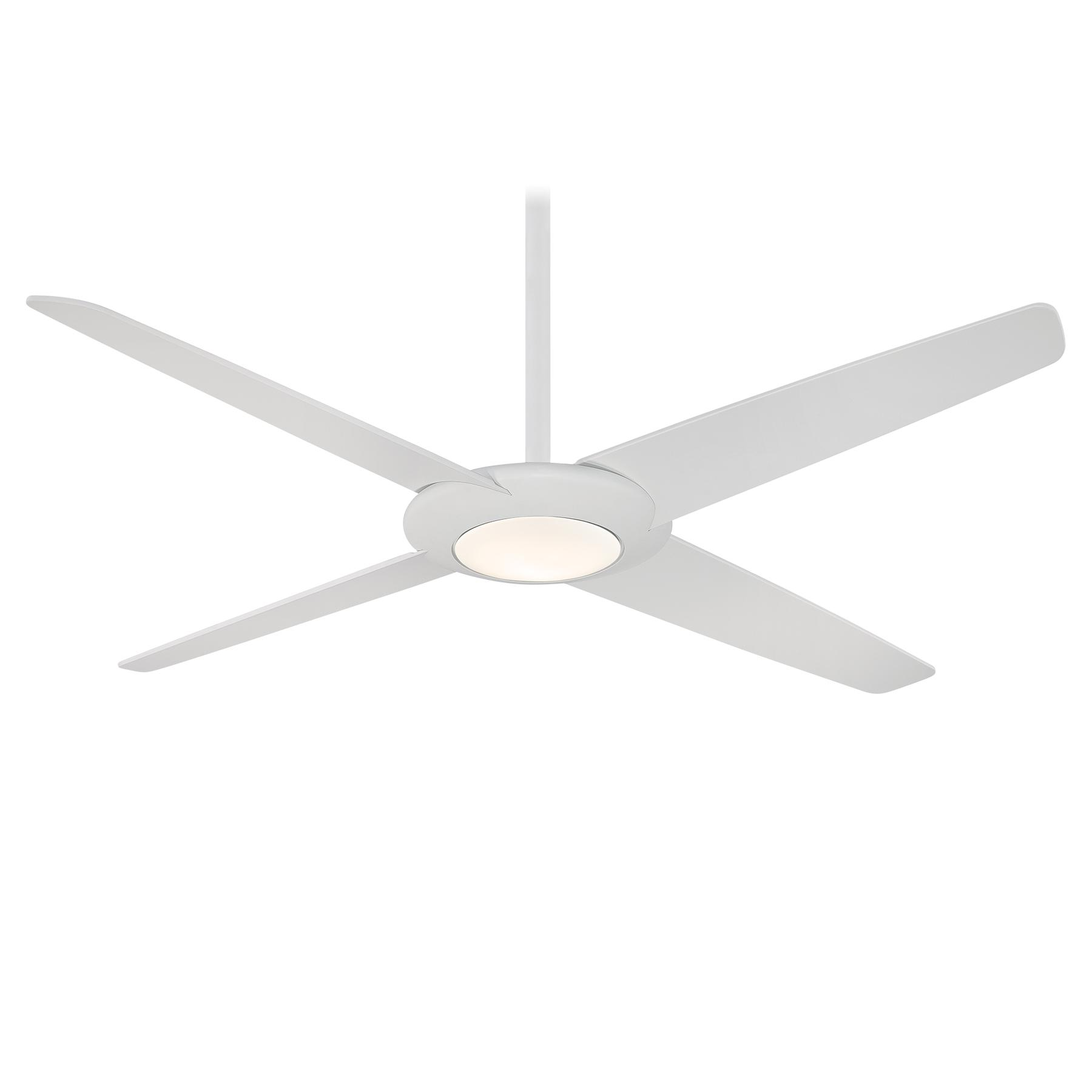 Pancake Xl Ceiling Fan With Light By Minka Aire