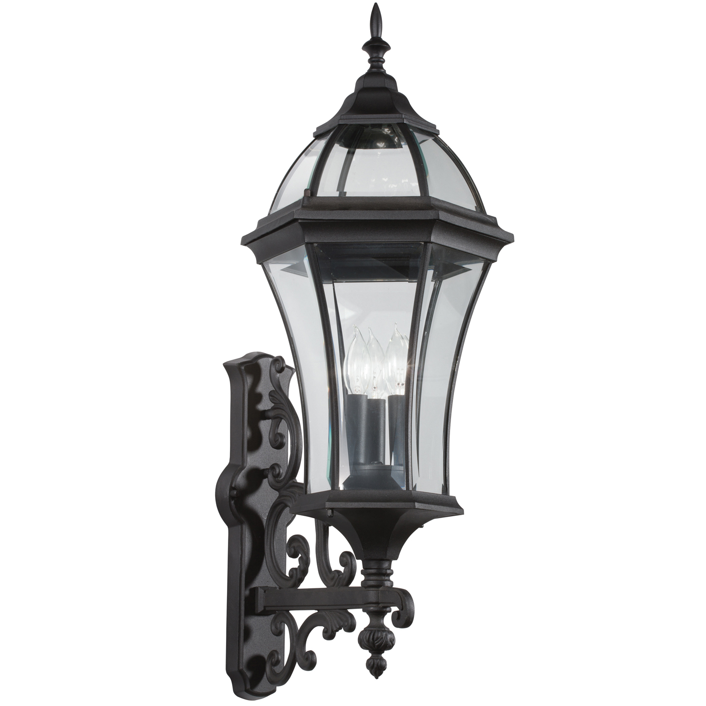 Townhouse Extra Large Outdoor Wall Light By Kichler 49185bk