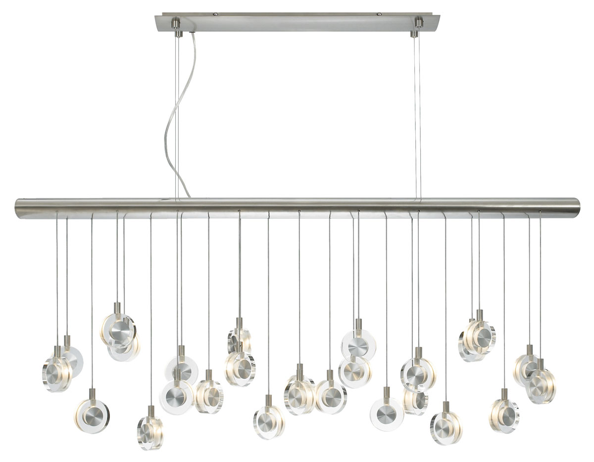 Bling linear suspension by lbl lighting