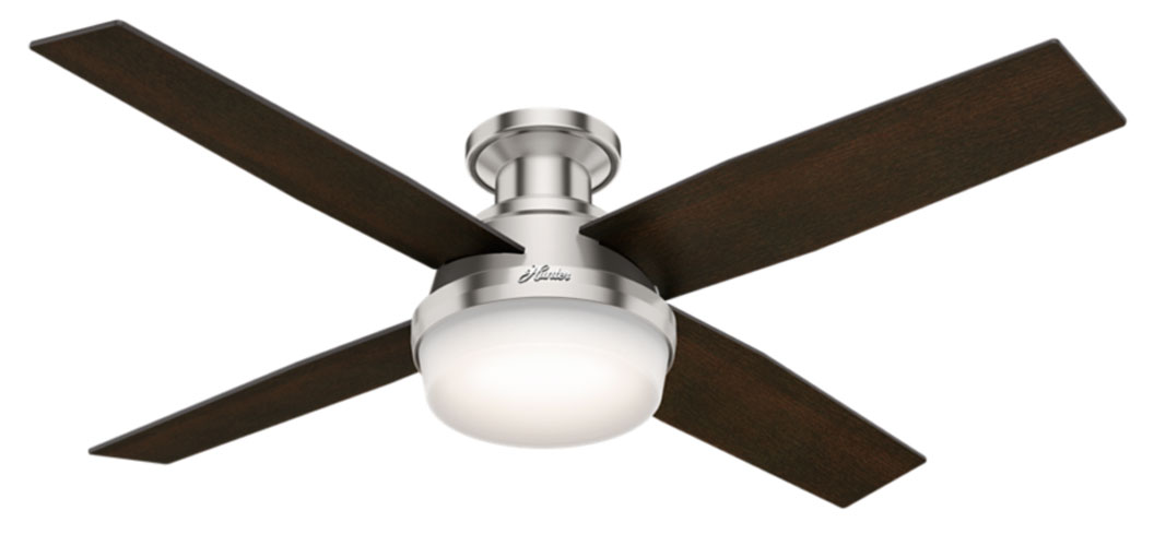 Dempsey low profile ceiling fan with light by hunter fan 59243 download image dempsey low profile ceiling fan with light by hunter aloadofball Gallery